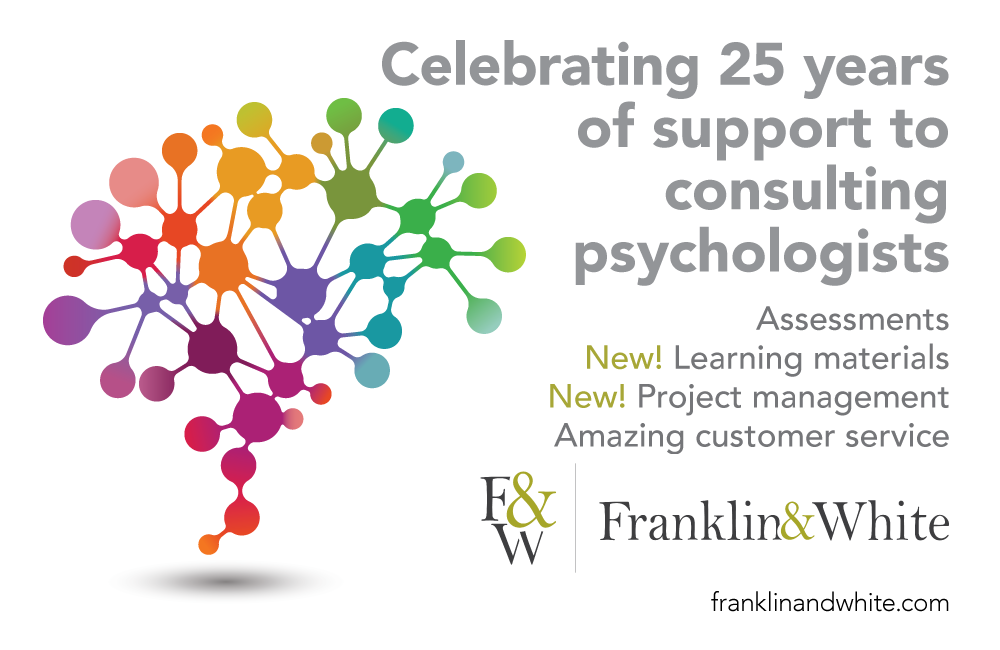 Visit our table at the Society of Consulting Psychologists Conference